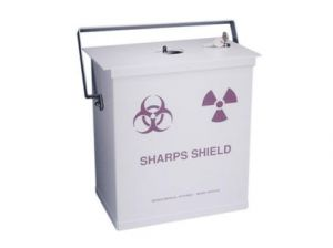 "039-335 - Sharps Container Shield, .125"" lead for Sharpstainer Containers"