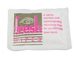 FRESHWIPES MAMMOGRAPHY CLEANSING WIPE