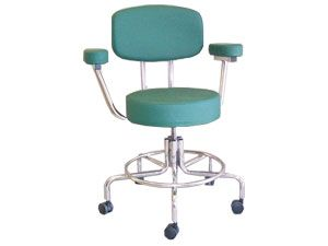Non-Magnetic Adjustable Chair with Casters