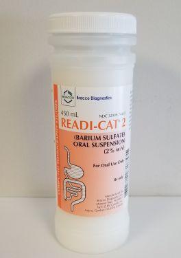 SKU : 137729 - Readi-Cat 2 Barium Sulfate Oral Suspension 2% w/v - Orange Vanilla