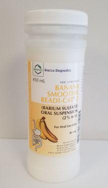 SKU : 137875 Readi-Cat 2 Smoothie Barium Sulfate Oral Suspension - BANANA