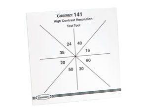 High Contrast Resolution Test Tool (141) - Standard, 16-60 Mesh