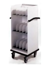 Heavy Duty Cassette Cart - 125 Capacity