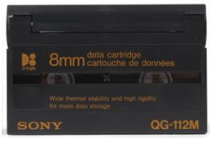 264182EA - Sony QG112M D8 8mm Data Cartridge (2.5/5.0 GB)