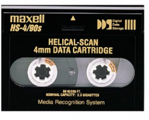 400295 - Maxell 2.0GB 91.5M HS-4/90S 4MM Data Cartridge for Helical Scan Drives