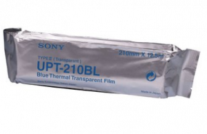 UPT210BL SONY BLUE THERMAL TRANSPARENCY FILM