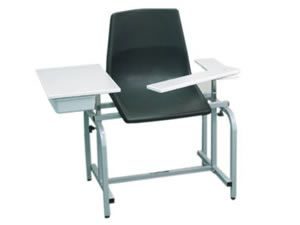 113017 Injection Chair with Storage Drawer