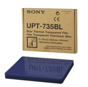 UPT735BL 8x10 Blue Transparency Film