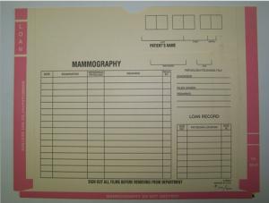 413163 - XJ6650 Mammography Jacket Kangaroo 3 Pocket Black Imprint with Pink Ink