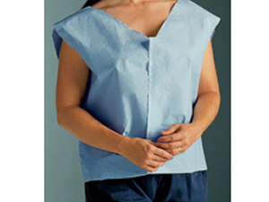 Scrim Reinforced Capes - DISPOSABLE PATIENT TOP