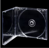 416205 CD Jewel Case Clear