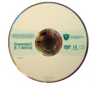 MediScribe Medical Grade DVD+R 4.7GB