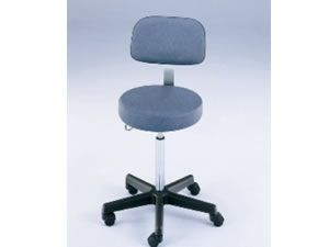 Pneumatic Stool with Backrest