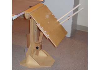 Merchant Board with Dowel Arms for film-less cassettes