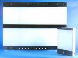 4X Hi-Low Illuminator - 14 X 17 - Recessed Mounted - Auto Switches