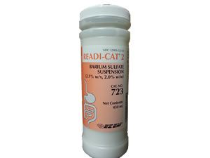 Readi-Cat 2 Barium Sulfate - Orange Vanilla Flavor  450ml bottles 256644 723