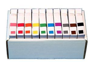 AFV System 3 (IVLP) Solid Color Coding Labels
