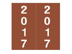 AMES 2017 BROWN YEAR LABEL UNLAMINATED IFYM