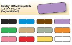 Barkley Color Designation Poly Laminate Labels