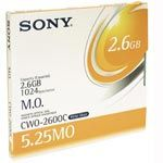 5.25 Sony Write-Once Magneto Optical Disk Cartridge for 2.6 GB Multifunction Drive