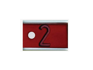 X-RAY MARKER 1/2 INCH SINGLE LETTER OR NUMBER