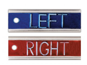 ELITE LEFT AND RIGHT MARKERS WITHOUT INITIALS