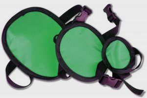 Adult Gonad Protection Shield Set - Light Weight Lead - Set of 3