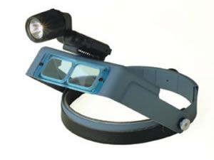 Headlamp Magnifier with Xenon Lamp