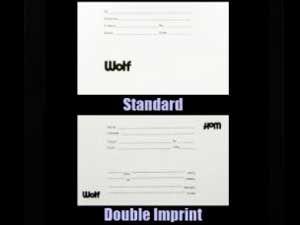 Wolf ID Printer Cards
