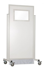 X-Ray Mobile Barrier with Medium Window