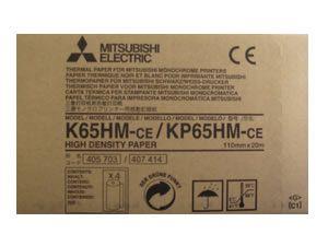 Mitsubishi Black & White High Density Thermal Paper KP-65HM