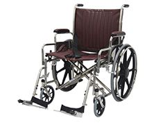"MRI Non-Magnetic Wheelchair 22"""