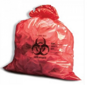 NTB-30 - Biohazard Bags - Red - 10 Gallons