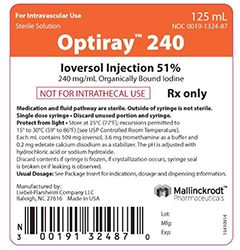 OPTIRAY 240 (Ioversol Injection 51%)