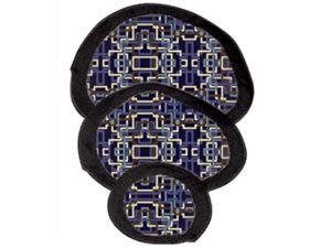 109696 Oval Gonad Shield Set STARLITE