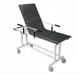 MRI Non-Magnetic Fixed Stretcher with Fowler Back