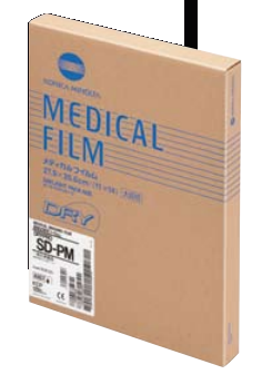 MFR: 0161108 - SD-PM Dry Film for Mammography 8 x 10 in