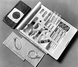 Myelogram Tray 22 Guage Spinal Needle