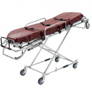MRI Non-Magnetic Heavy Duty Folding Stretcher