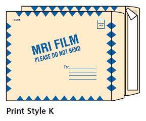 MRI X-Ray Film Mailers