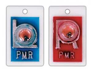 IDENTIFIER POSITION INDICATOR MARKER SET WITH INITIALS