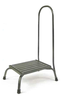 High Capacity Bariatric Step Stool with Handrail