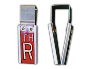 ELITE DOUBLE CLIPPER MARKER WITH INITIALS XRAY MARKER