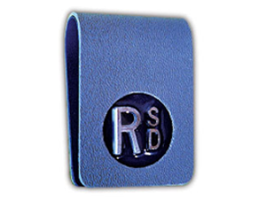 THIN CLIPPER MARKER WITH INITIALS XRAY MARKER