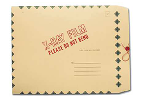 Green Diamond Border Mailer