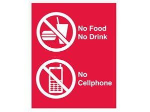No Food No Drink No Cell