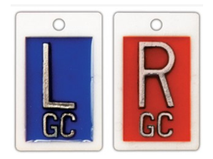 IDENTIFIER MARKER SET WITH INITIALS