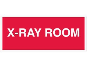 X-RAY ROOM RED