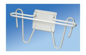 Tri-Rack wall mounted single apron and glove rack