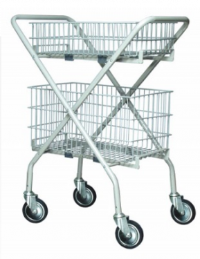 Utility Cart (with wired basket)